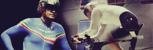 Fabrizio Macchi in the Milan WInd Tunnel.