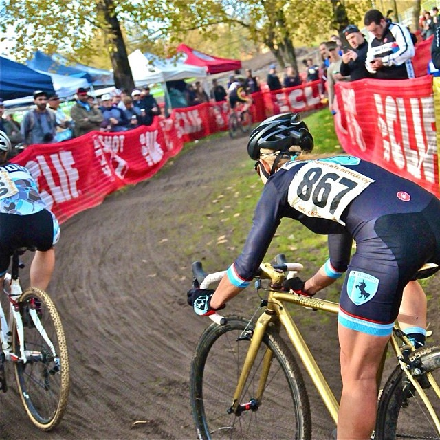 I kinda miss CX. @earthquaker4 @thevanillaworkshop @portlandbicyclestudio