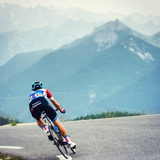 The #tdf heads into the Pyrenees today - and the stage win could very well be decided on the descent of the HC Port de Bales. | pic @jeredgruber