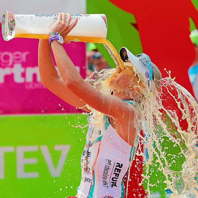 @mirindacarfrae knows how to celebrate.