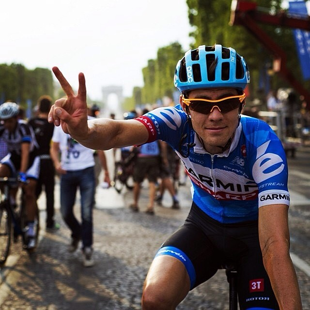 Nice work @alex_howes , first #tdf  finished via @caleyfretz