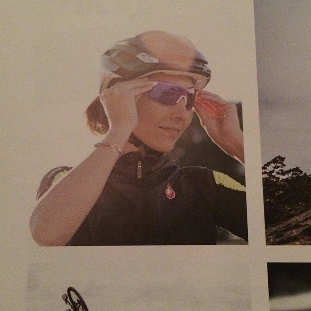 Our friend @lauraomeara looking good in the new @smithoptics catalog