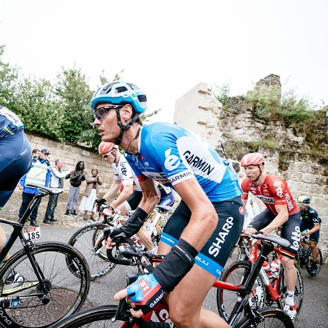 Johan at the #tdf via @jeredgruber