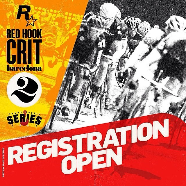Registration is open for @redhookcrit Barcelona!