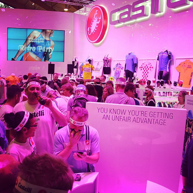 "Missed last night's Castelli ""Moustache"" Party at Eurobike? Then, check out the photo gallery here, facebook.com/castellicycling"