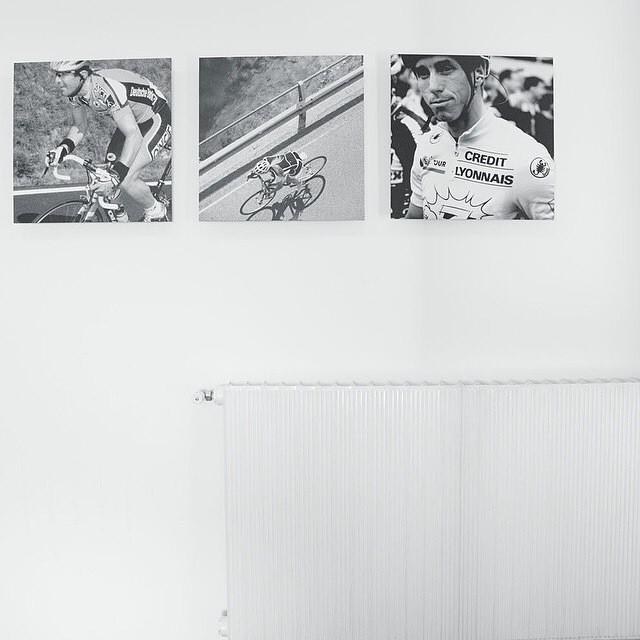 White walls, radiators, Lemond. From @augustusfarmer at our Italian HQ.