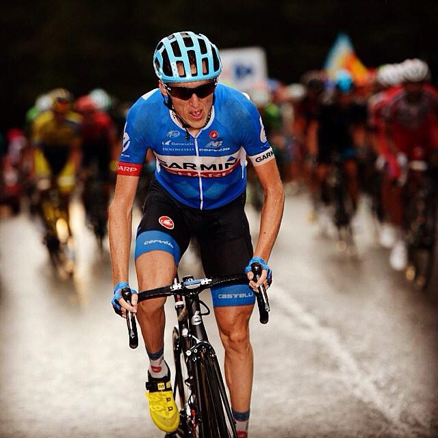 Dan Martin at The Vuelta via @rideargyle