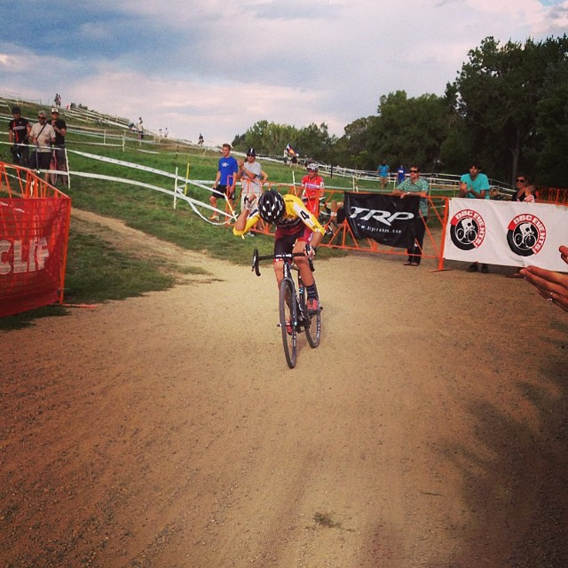 @krughoff coming in for 2nd place at Boulder Cup via @qzoomair @noosacx
