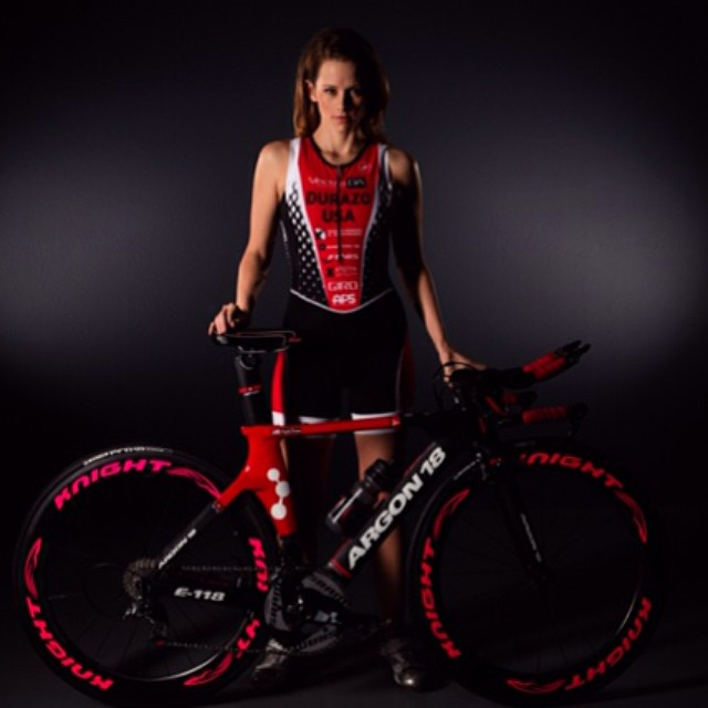 Good luck to @angeladurazo this Sunday at the Paratriathlon Nationals in Arizona photo via Jaime Klein