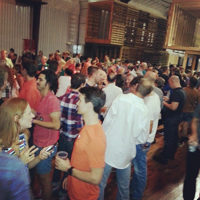 A great night with 400 friends at the @drivewayseries wrap up party. Thanks Austin!