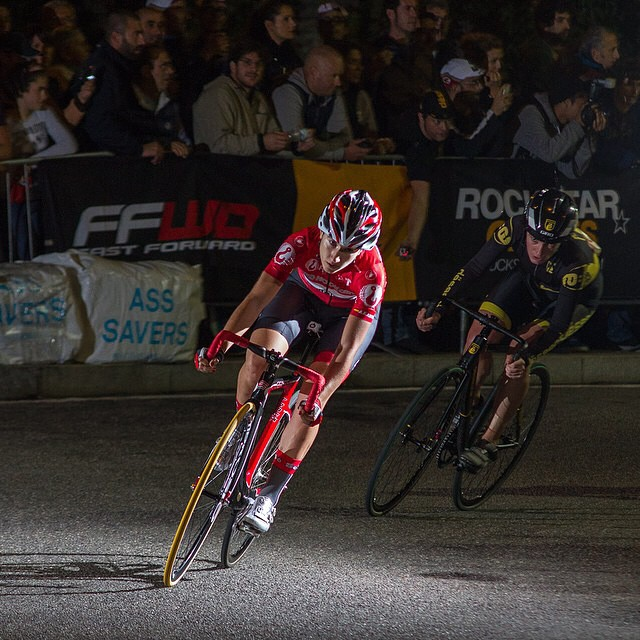 Ainara Elbusto Arteaga is the 2014 @redhookcrit women's champion . Photo via @strict