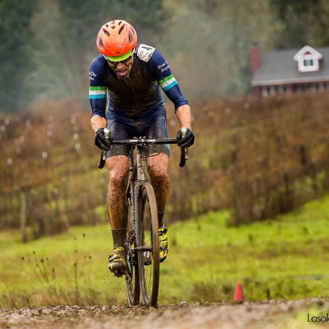 Seth Patla winning at Kruger's CX photo via @lasalaimages @rcbpdx
