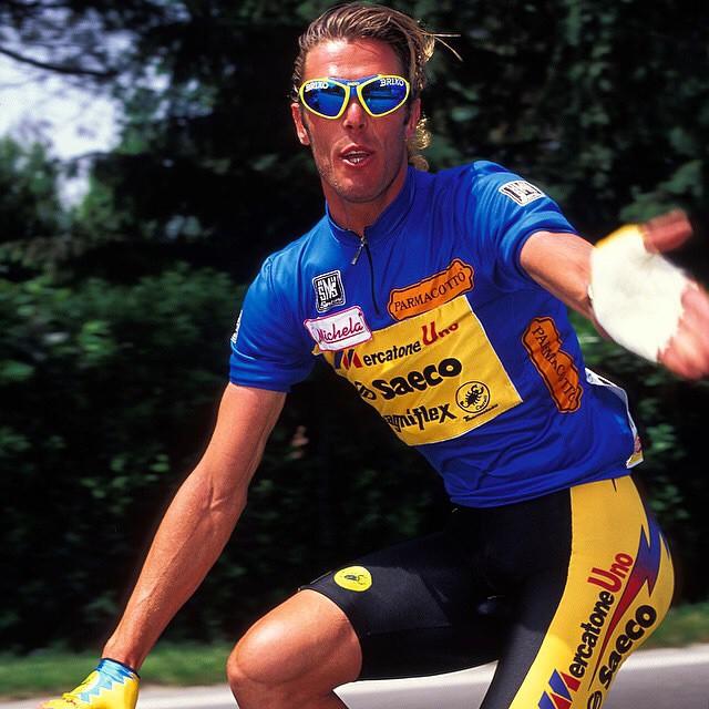 Oh Cipo!! 1995 Giro Photo from Yuzuru Sunada via @pelotonmagazine