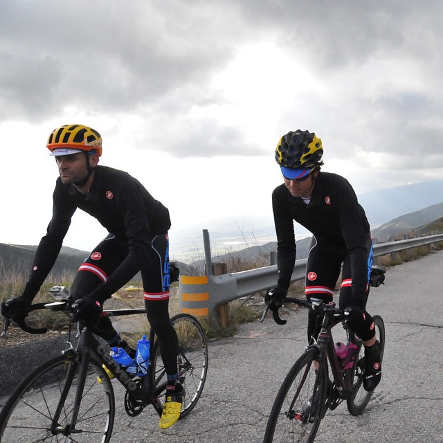 Thanks Guys! @philgaimon and @localsarepainting testing out the Alpha Jersey heading up to Big Bear.