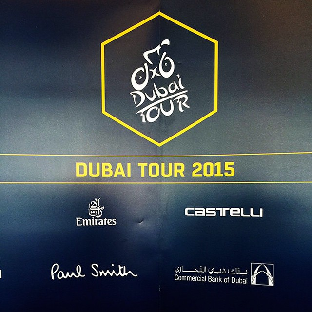 The 2015 #dubaitour leader's jersey is designed by the iconic British fashion designer and passionate cycling enthusiast Sir Paul Smith and produced by Castelli. See the jerseys and video interview with @paulsmithdesign here blog@castelli-cycling.com