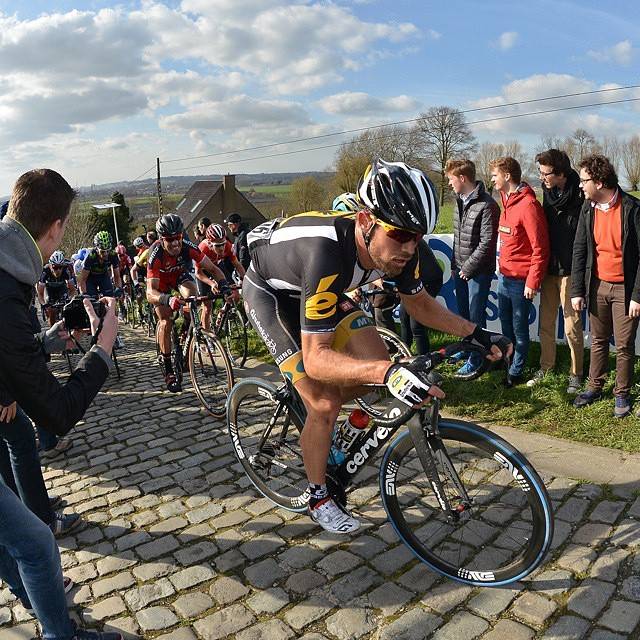 Cobbles in Belgium with @teammtnqhubeka