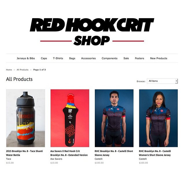 The @redhookcrit shop is back online! Go to their site to buy!