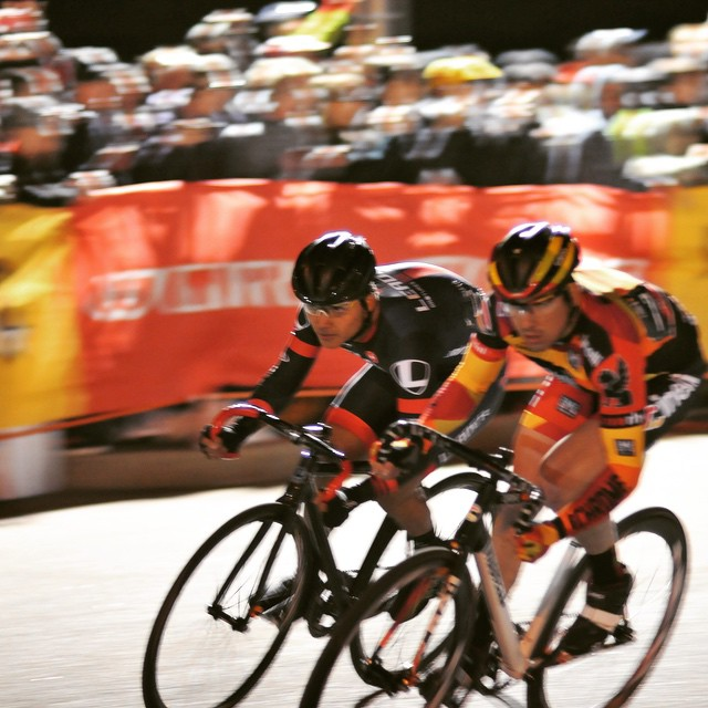 The men are flying at @redhookcrit