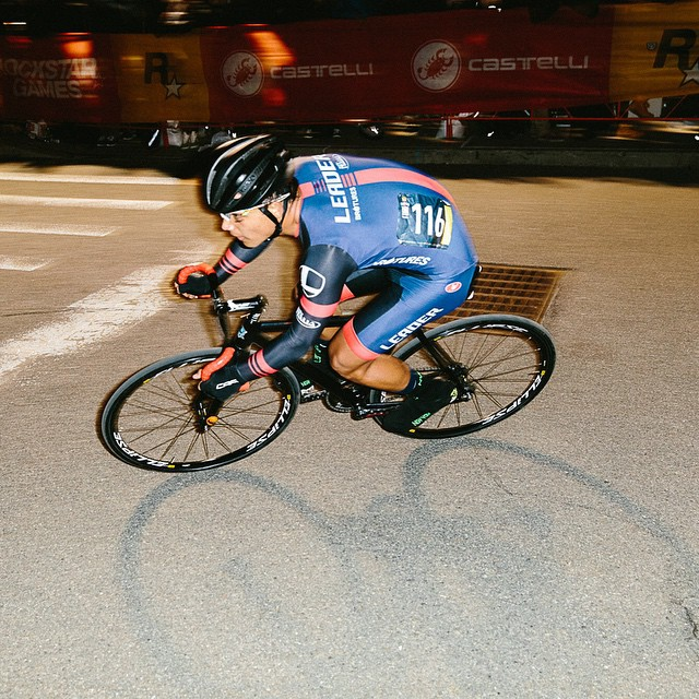 Nice work last night Raul Torres Pagaza on third place at @redhookcrit photo via @manualforspeed with @leaderbikeusa
