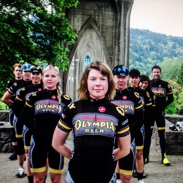 Great team portrait of @olympia_cycling photo via @teamcthulhu