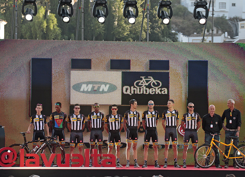 Cycling / Radsport / Vuelta a Espana 2015 - Teampraesentation /
